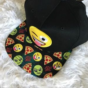 New Flat Bill Emoji Hat